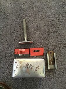 Very old Male shaving/grooming kit Fremantle Fremantle Area Preview
