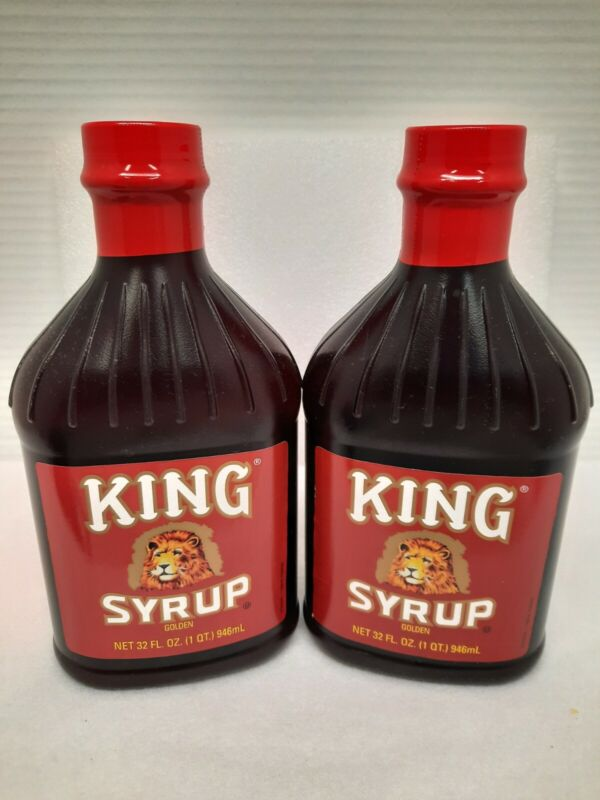 Kings Syrup 2 Bottles 32 oz