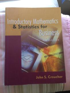 Introductory Mathematics & Statistics for Business Langford Gosnells Area Preview