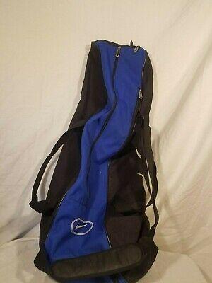 b13a9fc853e6 EUC Nike Sports Bat Ball Bag Baseball Softball Blue Black 33