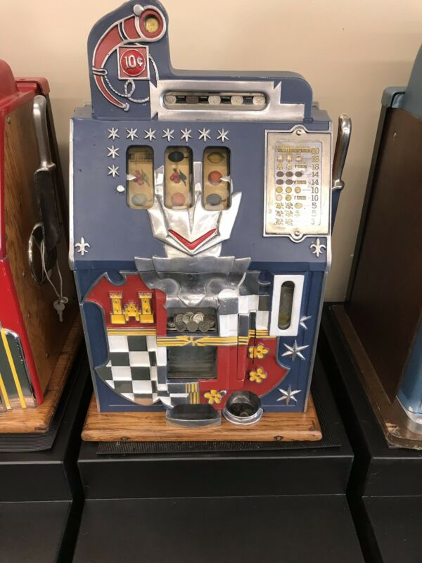 10 Cent Castle Front Mills Slot Machine