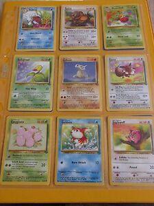 Pokemon cards bundle - jungle set/job lot of 18 cards