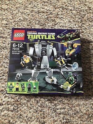 LEGO Teenage Mutant Ninja Turtles Baxter Robot Rampage (79105) BNIB