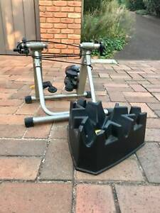 Bike Trainer with Front Wheel Stand