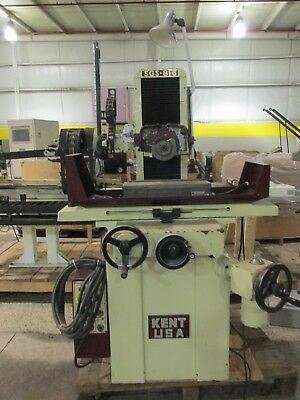 Kent Model Sgs-816mr Manual Surface Grinder Excellent Condition Check Us Out