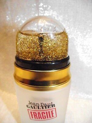 collection JP Gaultier fragille VIDE 50ml + bouchon peut être tenu en miniature