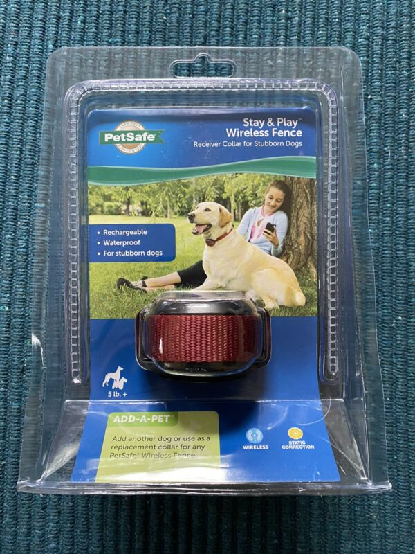PetSafe Stay & Play Wireless Receiver Stubborn Dog Fence Collar ~ New (13672)