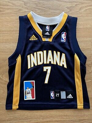 Jermaine O'Neal Indiana Pacers Toddler Jersey Size 2T Adidas Boys NBA Basketball