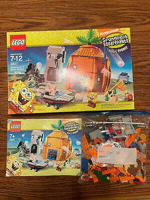 Lego Spongebob Squarepants 3827 Adventures In Bikini Bottom COMPLETE Box Booklet