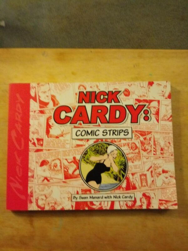 Nick Cardy Comic Strips TP, Signed!