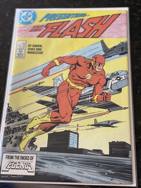 FLASH # 1 - 1987 (Wally West as Flash) DC Comics