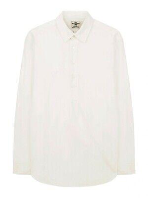 BNWT Mens Kent & Curwen Beckham Collar White XXL Military L/S Shirt RRP £175