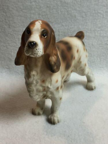 Vintage Lefton English Springer Spaniel Dog Figurine