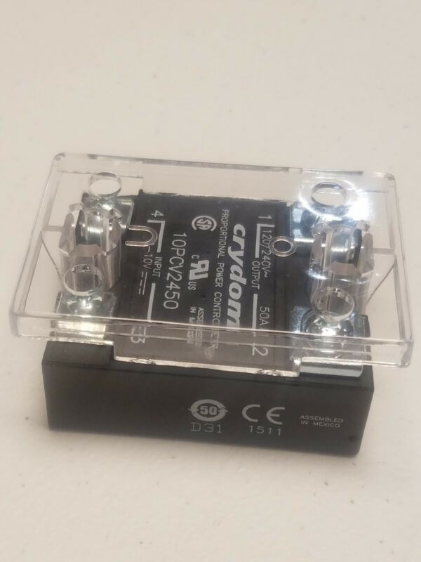 CRYDOM SSR 10PCV2450 w/Cover (NEW) 50Amp