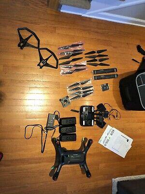 3DR Solo RTF Quadcopter Smart Drone - Go Pro Hero 4 -Many accessories and parts