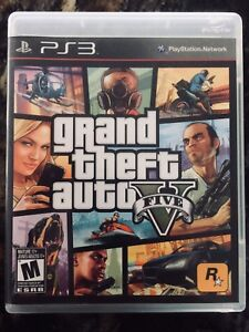 Grand Theft Auto V ( GTA 5 ) Sony PlayStation 3 PS3