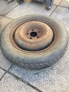 Dodge Caravan Spare Tire