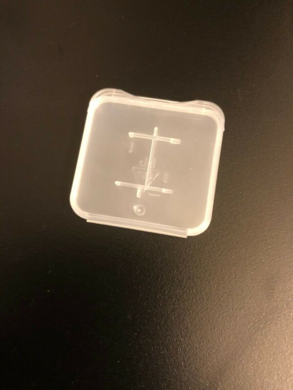 Micro SD SDHC Memory Card Case Holder Box Storage Hard Plastic Transparent