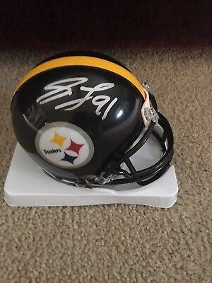 Stephon Tuitt Pittsburgh Steelers Signed Autographed Steelers Mini Helmet