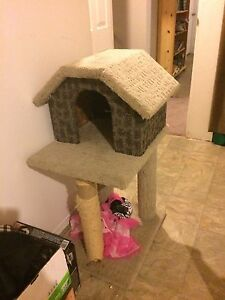 Kitty house 30$ obo