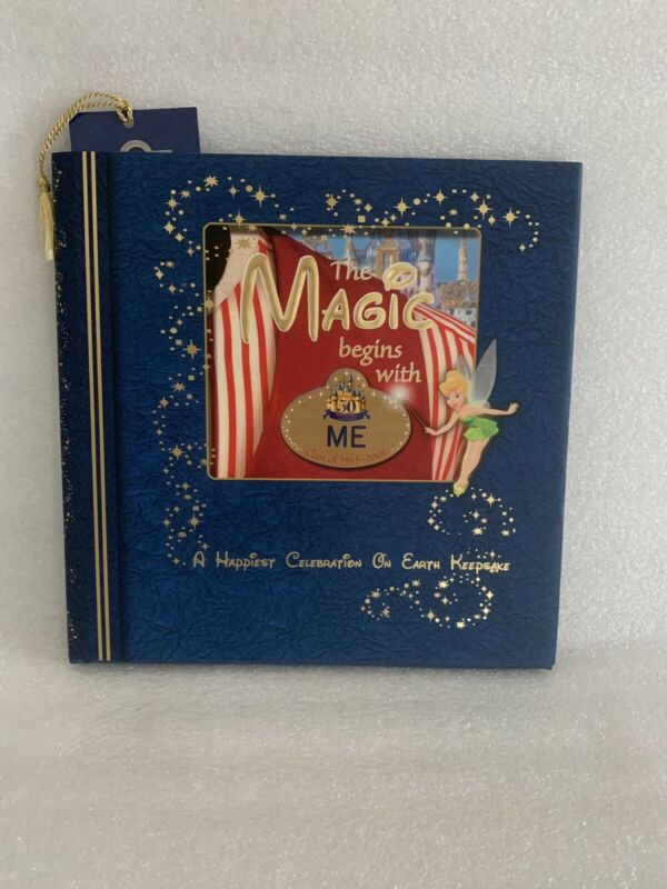 """Disney 50th Anniversary """"The Magic Begins With Me"""" cast member book 1st Edition"""