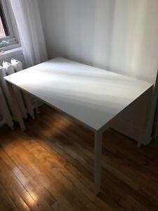 White Melltorp IKEA Dining Table/Desk