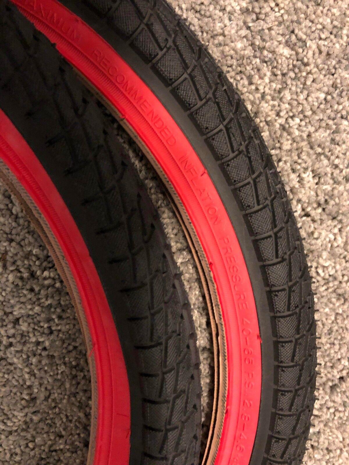 Kenda Kontact BMX Bike 20x1.95 20 x 1.95 Bicycle Tire Yellow