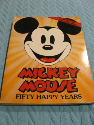 Mickey Mouse 50 Happy Years -Outlet Book Company Staff & Random House PAPERBACK