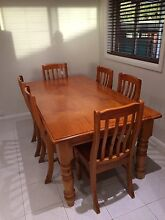 Dinning table - timber Georges Hall Bankstown Area Preview