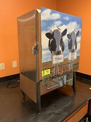 Silver King Dual Valve Milk Dispenser Refrigerated - Tested Working