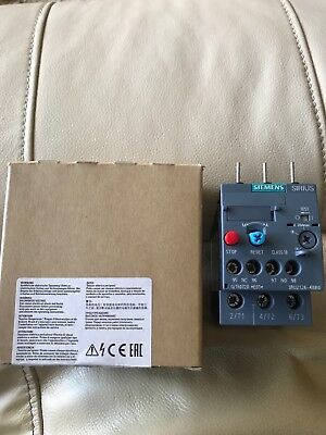 New Siemans Overload Relay 3ru2126-4bbo 1 Available 15.00