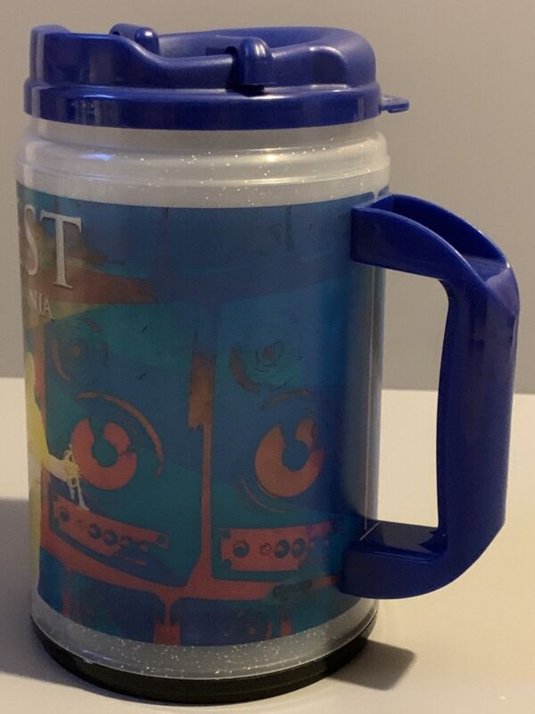 2010 Musikfest Insulated Hot Cold Beverages LIGHT UP Mug Cup ARTQUEST