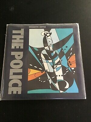 The Police Sting Message In A Bottle Rare Original Picture Sleeve Poster 45 7""