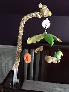 Carter's - Jungle Collection Musical Mobile for Crib