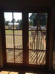 Timber French doors Enfield Golden Plains Preview