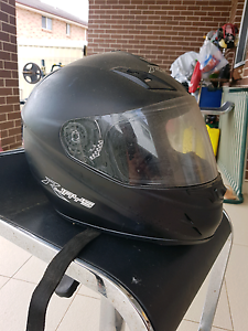 RJAYS motorcycle helmet size LARGE negotiable Canley Heights Fairfield Area Preview