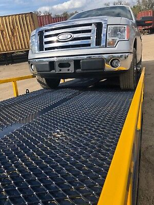 Yard Dock Trailer Forklift Loading Ramp 24000 Lbs. 85 Wide 82.5 Usable