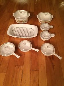Corning ware spice of Life 8 pc  set
