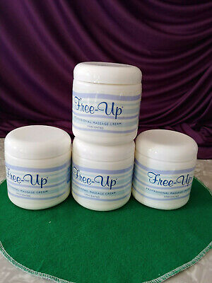 PROFESSIONAL MASSAGE CREAM FREE-UP UNSCENTED LUB. WITHOUT BEING SLIPPERY 16OZ