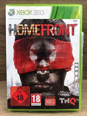 FSK18 • Xbox 360 Spiel • Homefront • Guter Zustand #M39