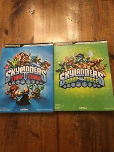 Skylanders Trap Team and Swap Force Game Guide Books