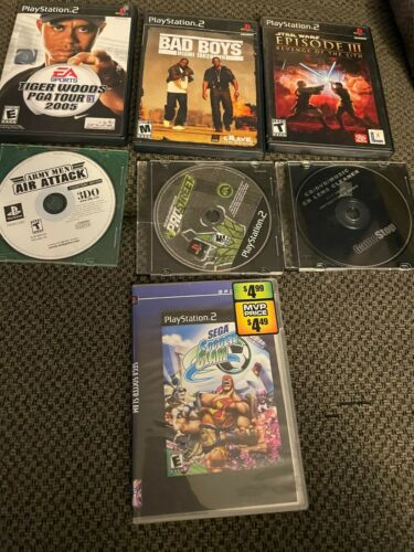 Ps2 and Ps1 game lot