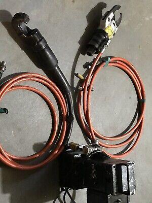 Greenlee Cutter Punch Qnd Hydraulic Pump