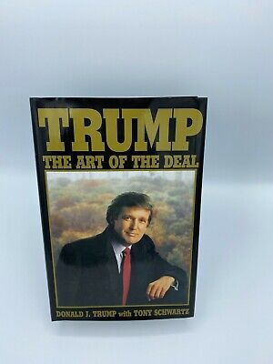 rare 1987 Trump : The Art of the Deal by Donald J. Trump and Tony Schwartz