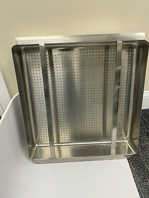 Commercial Stainless Steel Pre Rinse Basket 20 X 20 X 4