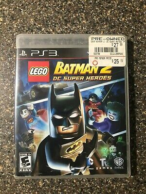 LEGO Batman 2 DC Super Heroes PlayStation 3 Complete with Manual PS3