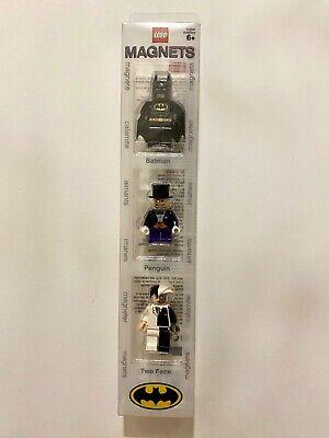 LEGO Batman Minifigure Magnet Set: Batman, Penguin, Two Face