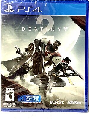 Destiny 2 PlayStation4 PS4 Games Brand New Factory Sealed