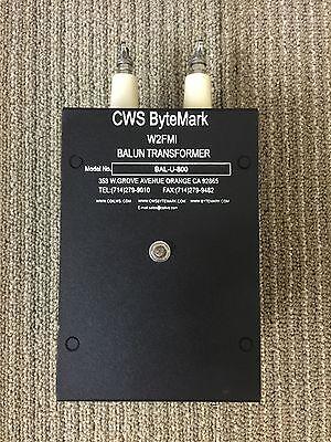 800:50 ohms 16:1 impedance Matching Transformer (Balun/Unun) Jerry Sevick W2FMI