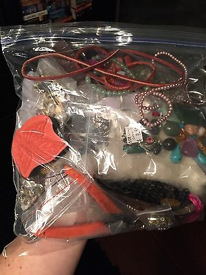 Large Variety Lot of Beads, Findings, Charms and Jewelry Making Supplies lot 8